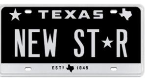 Texas DMV Announces New License Plate Star Symbol | Radio