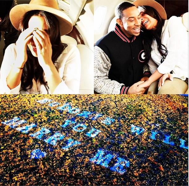 Ludacris with Gf