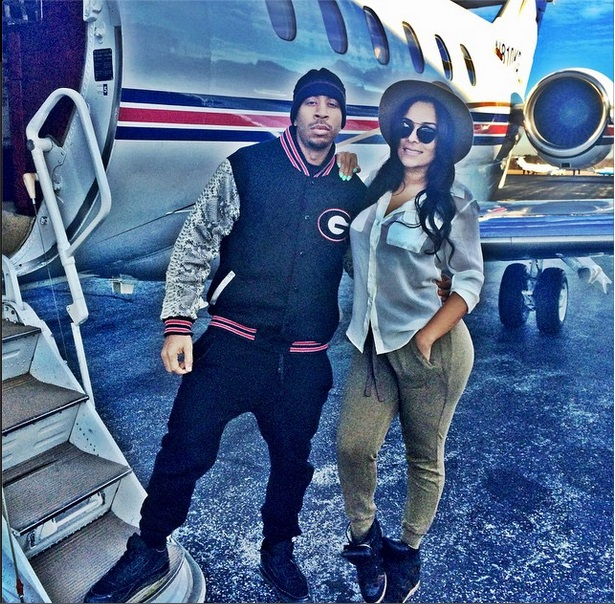 Ludacris with Gf1