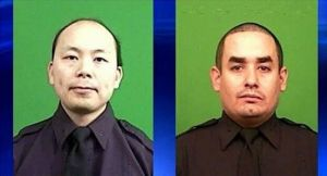 NYPD Officers Shot Dead