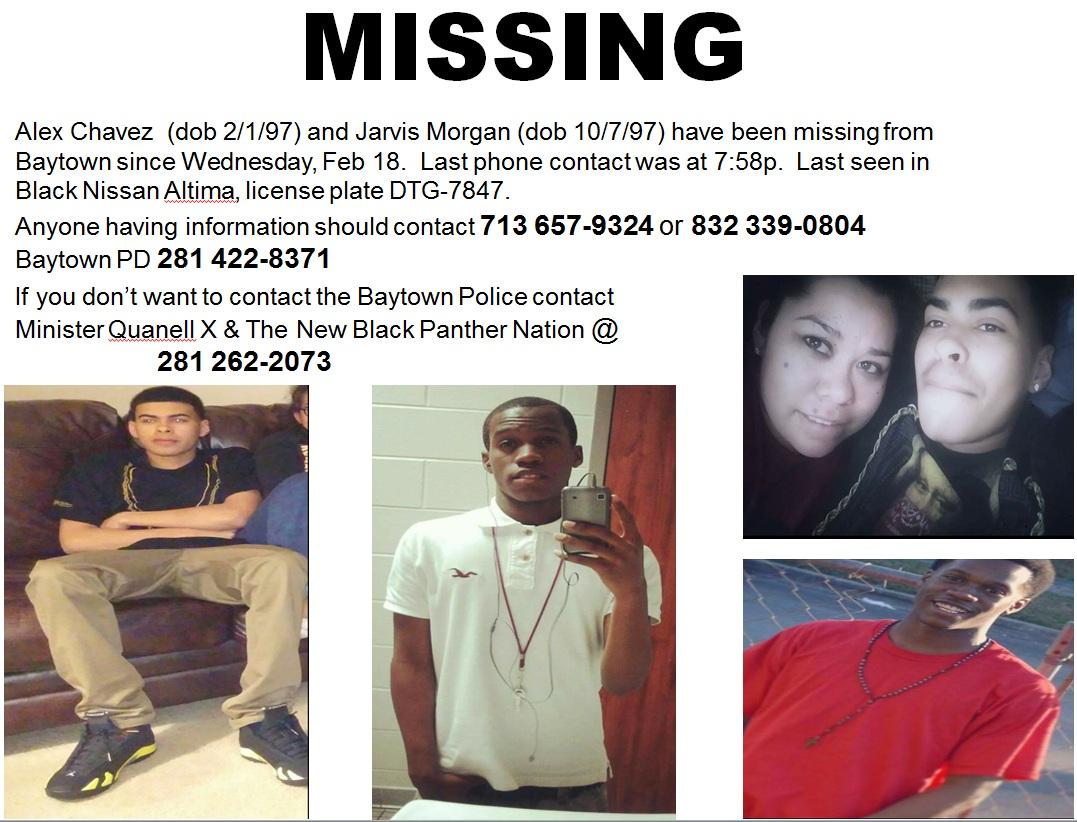 texas equusearch to organize search for missing baytown teens missing teens