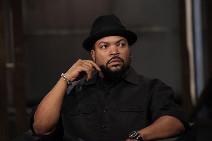 Ice Cube Visits fuse Studios