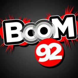 Boom 92 Houston Logo