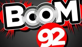 Boom 92 Houston Logo