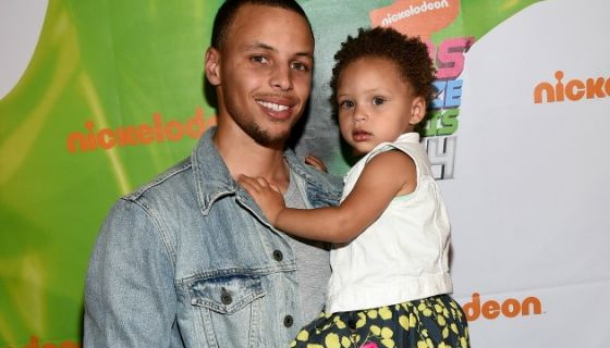 26aba3fe0090 Cuteness Overload  Riley Curry Cooks on Mom s Cooking Show