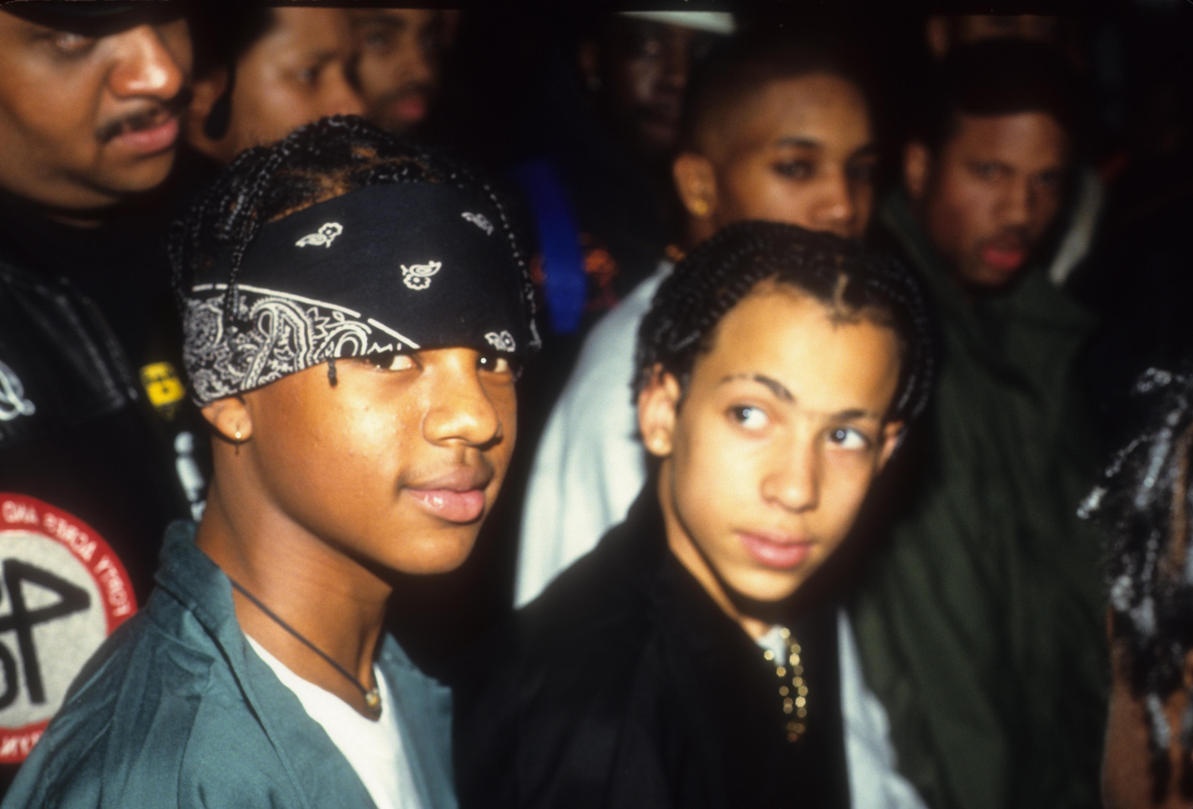 Kriss Kross Out and About