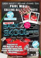2nd Annual Baby Slab Back 2 Skool Block Party & School Supply Drive