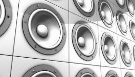 Audio speakers (Digitally Generated Image)