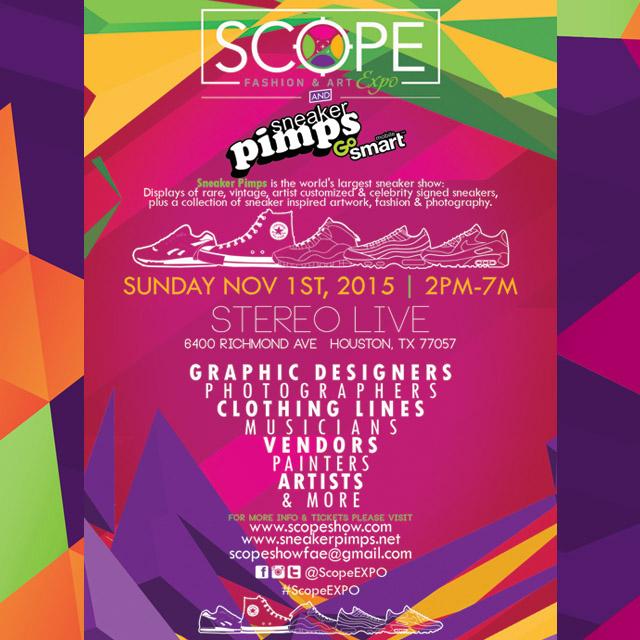 Scope X Sneaker Pimps Sneaker Expo