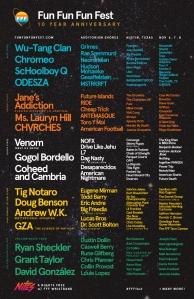 FFF Fest Graphic