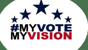 my vote my vision logo
