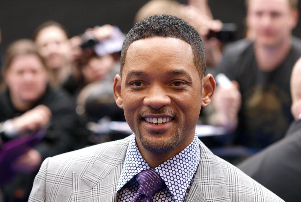 US actor Will Smith acknowledges the cro