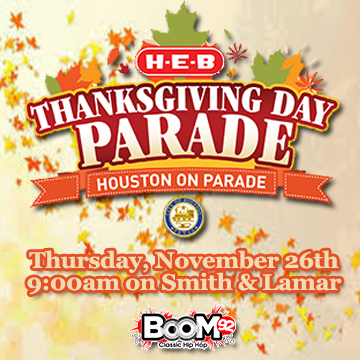 boom THANKSGIVING DAY PARADE
