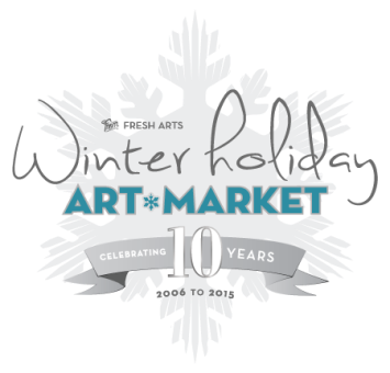 FRESH ARTS WINTER HOLIDAY ART MARKET