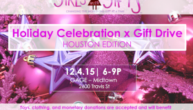 Girls with Gifts Toy Drive