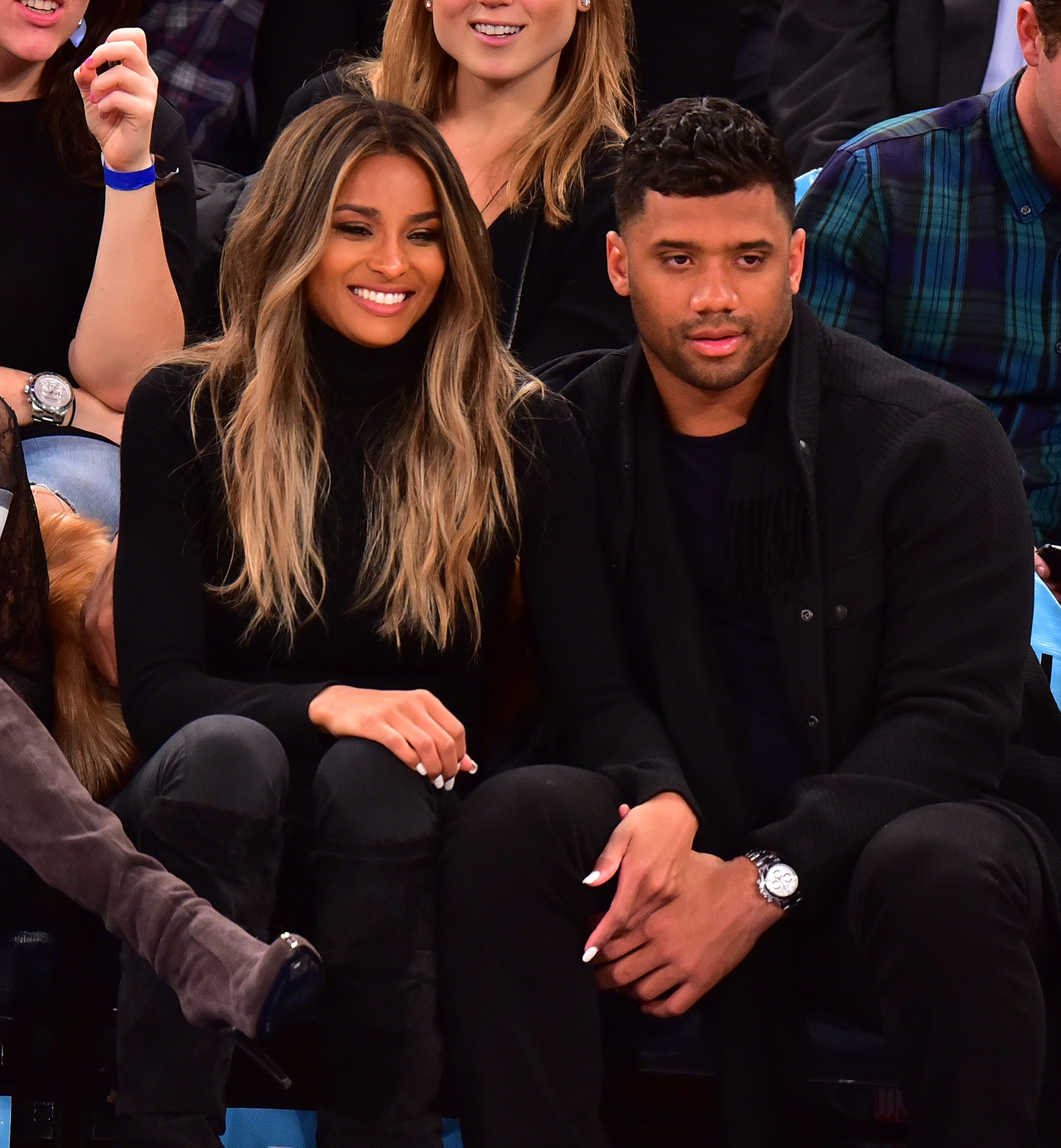 Celebrities Attend The Washington Wizards Vs New York Knicks Game - February 09, 2016