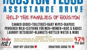 Houston Flood Assistance Drive
