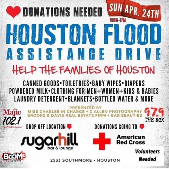 Houston Flood Assistance Drive