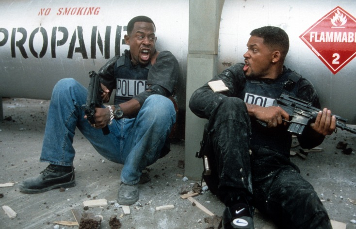 Martin Lawrence And Will Smith In 'Bad Boys'