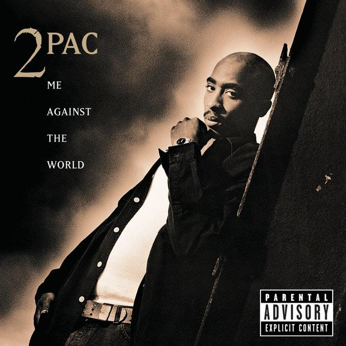 Tupac- Me Against The Word Album Cover