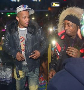 Lil Wayne And T.I. Live At Label