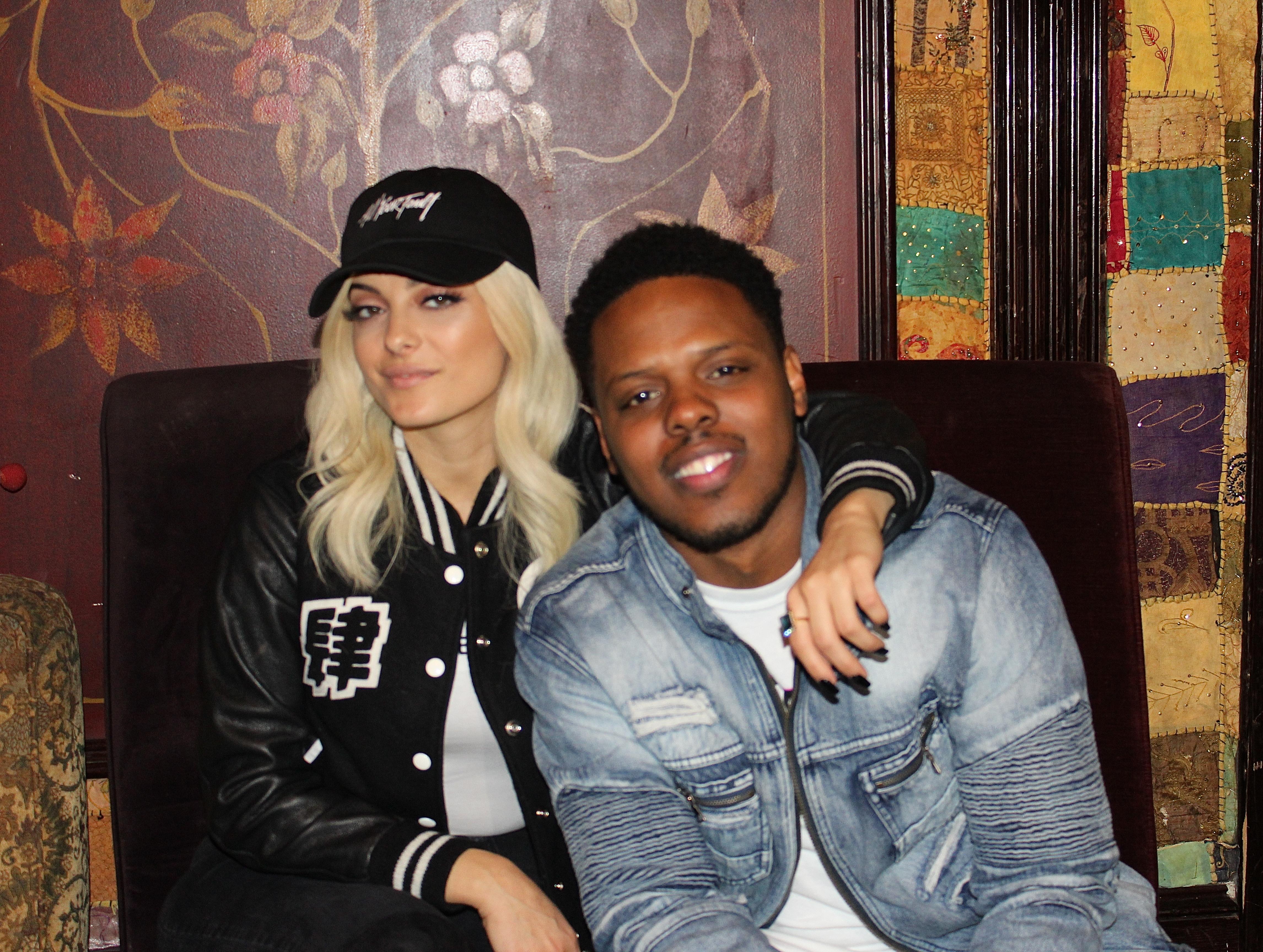 Bebe Rexha and Amir Diamond