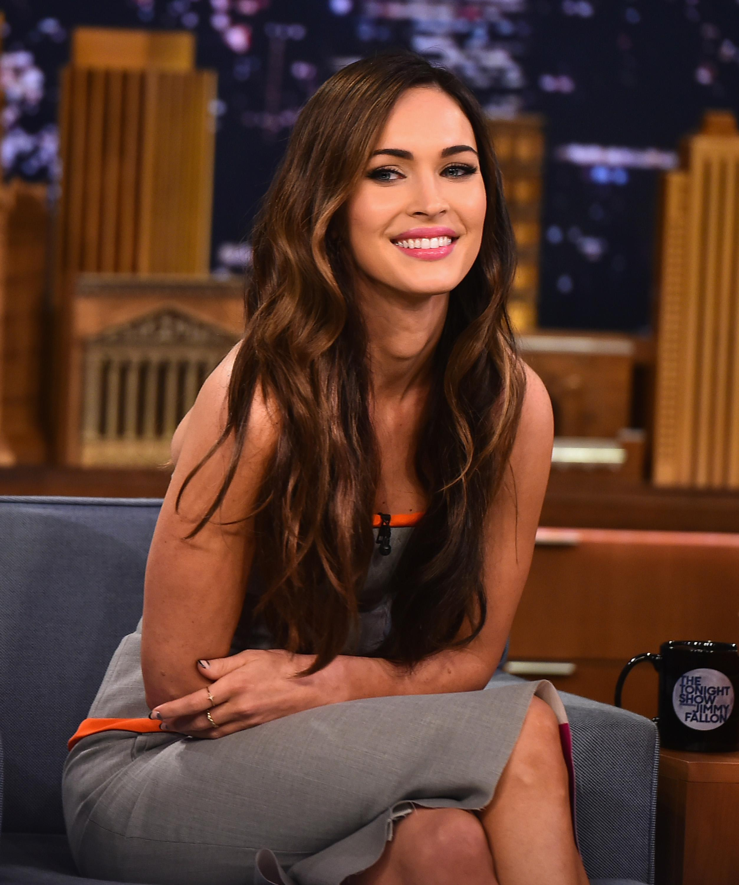 Megan Fox Visits 'The Tonight Show Starring Jimmy Fallon'