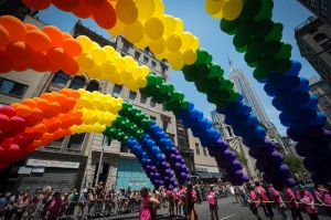 US-GAY PRIDE PARADE