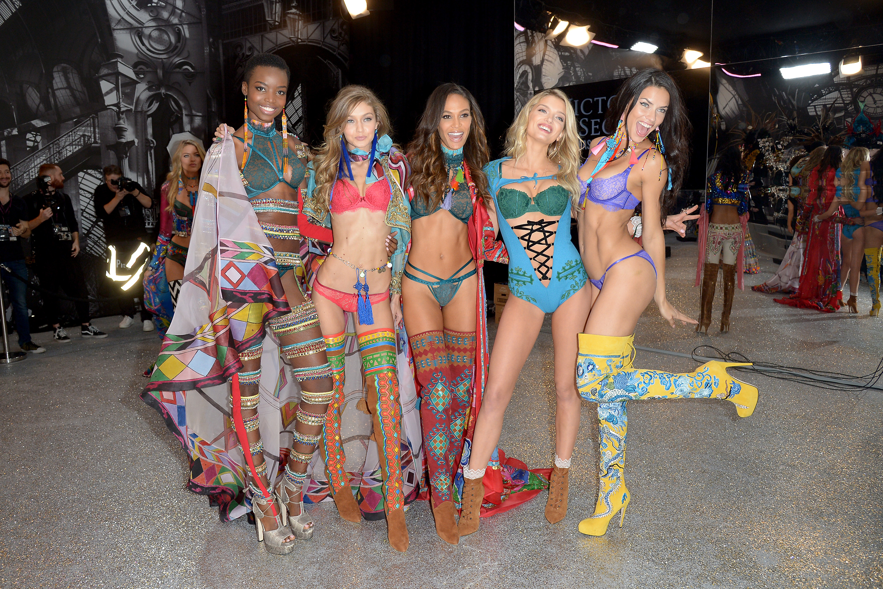 2016 Victoria's Secret Fashion Show in Paris - Backstage