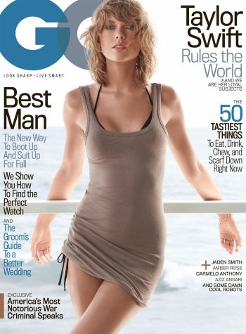 Taylor Swift first GQ cover