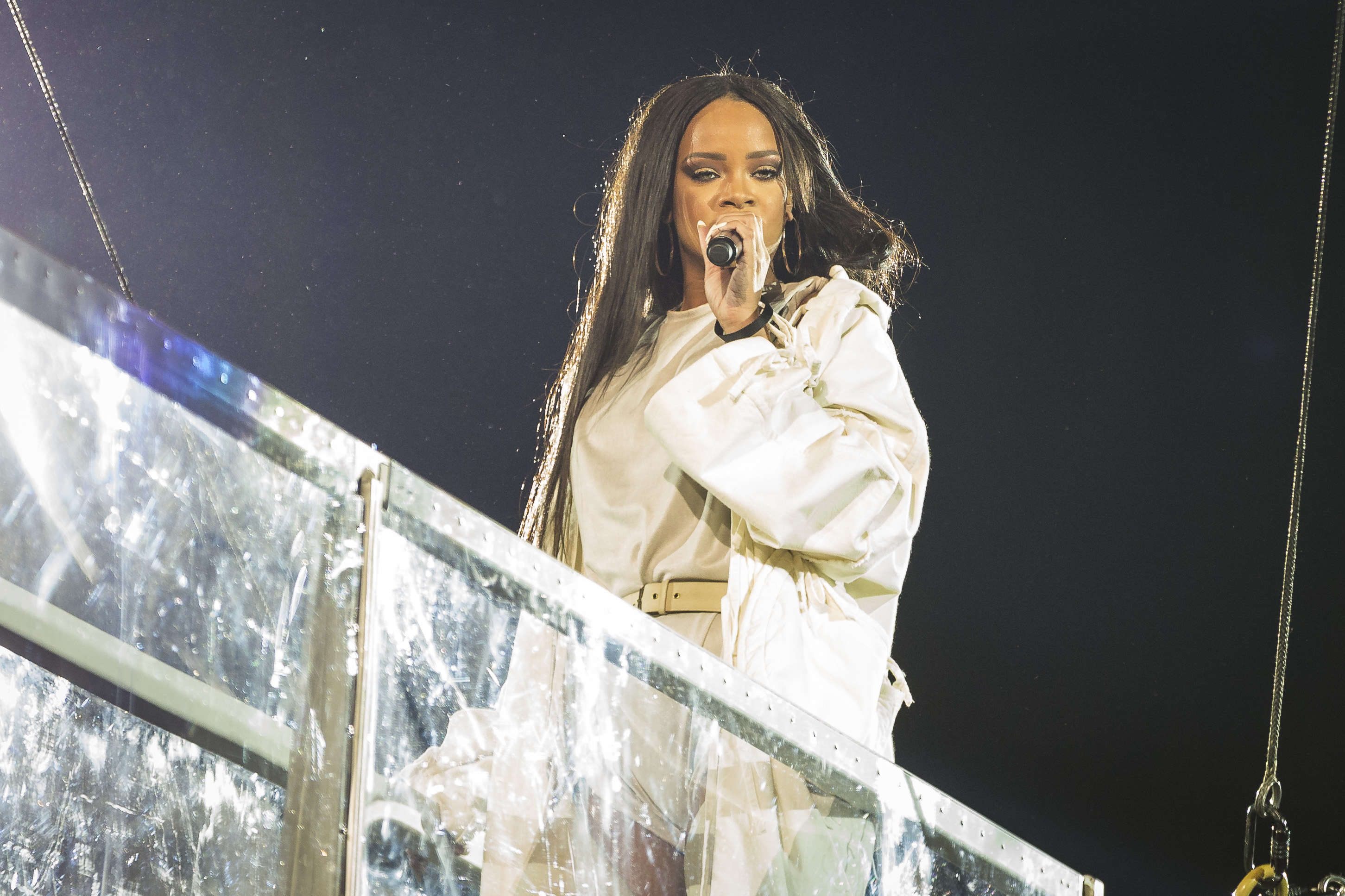 Rihanna Performs in Concert in Stockholm