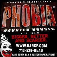 Phobia Haunted Houses