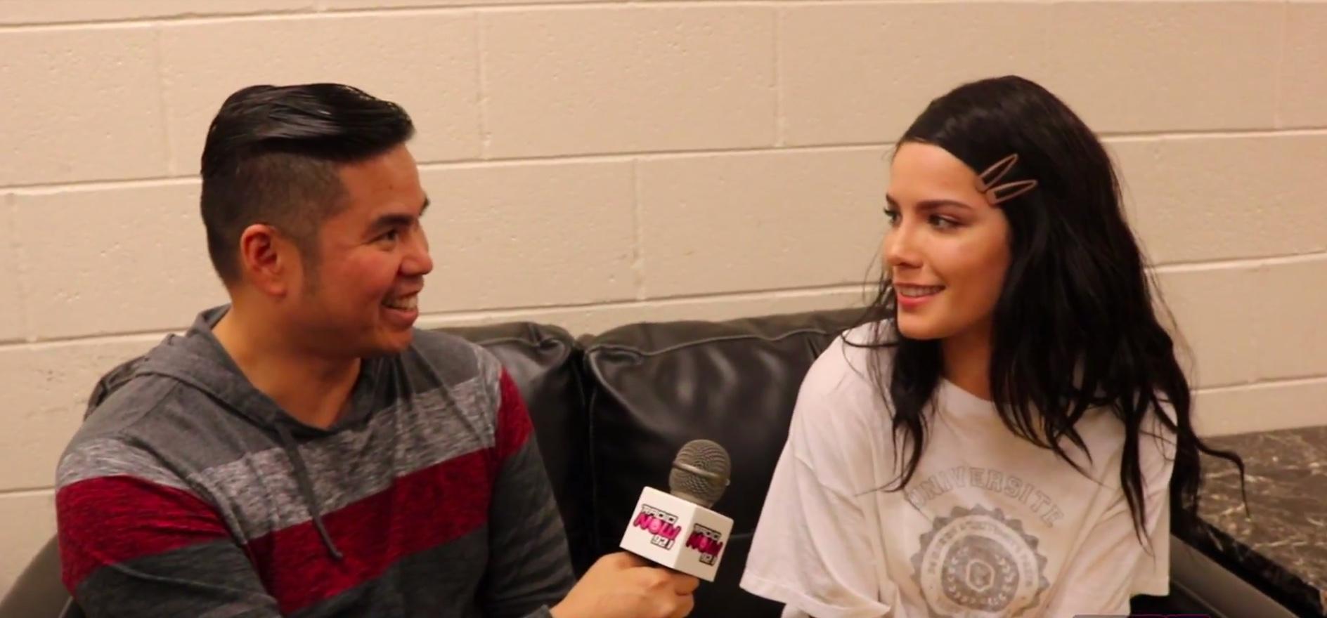 Halsey Interview