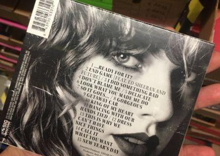 Taylor Swift's 'Reputation' Album Track List Gets Leaked!   Radio
