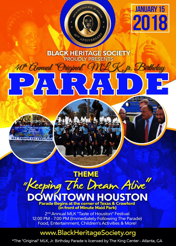 MLK Jr. Birthday Parade