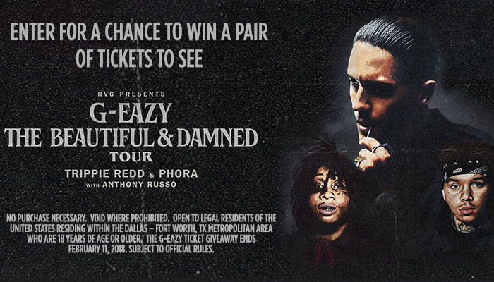 g eazy ticket giveaway