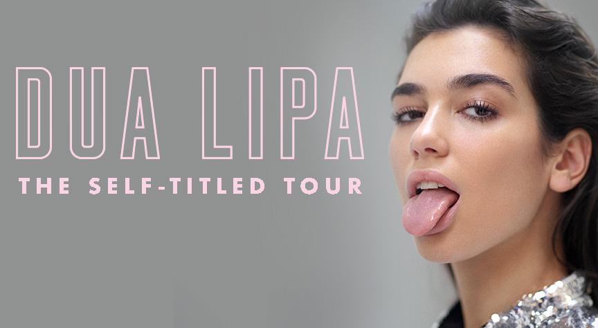 Dua Lipa Self Titled Tour