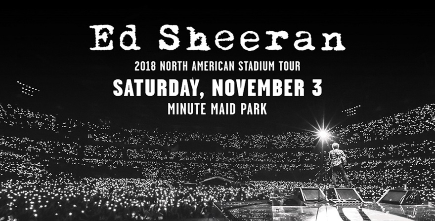 Ed Sheeran Stadium Tour