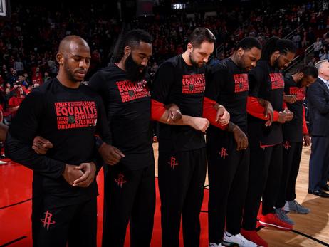 2018 NBA Houston Rockets