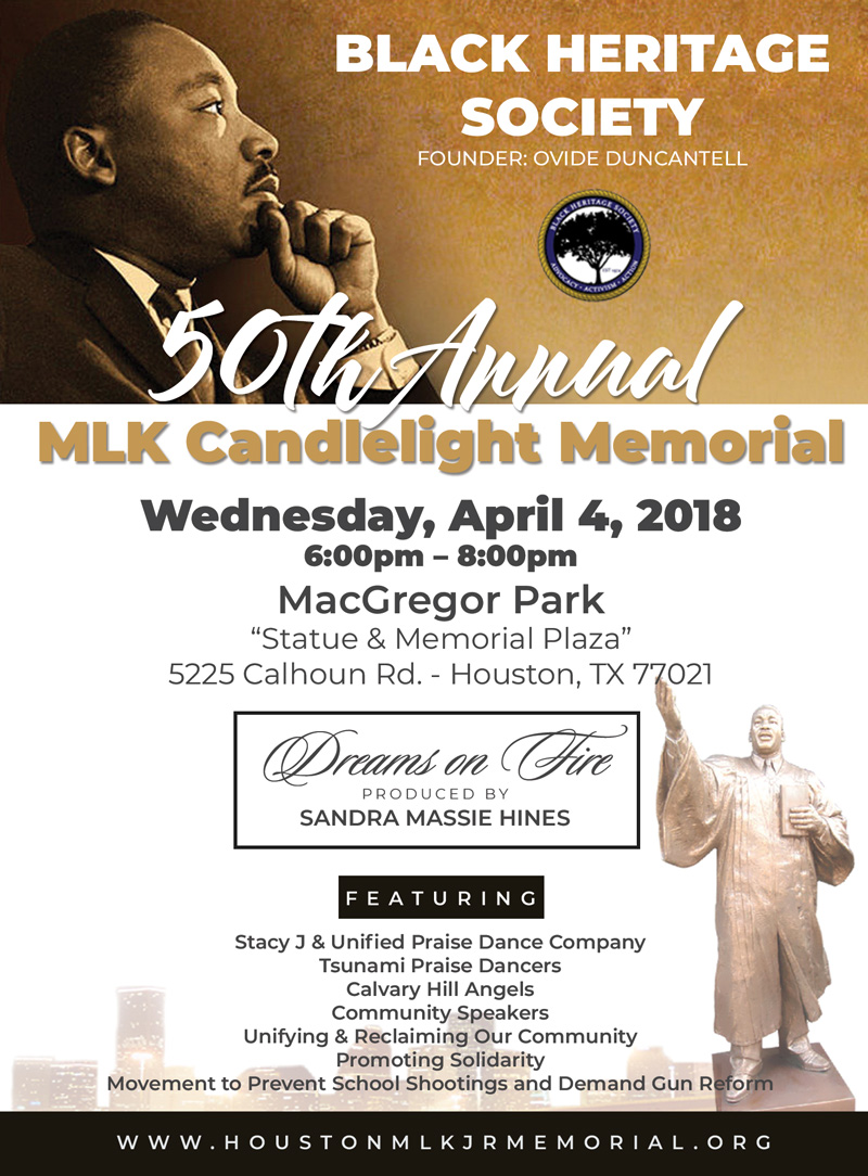 50th Annual MLK Candlelight Memorial