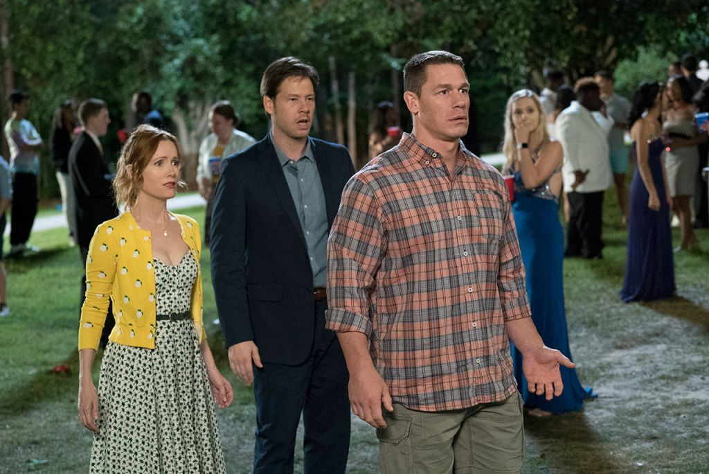 Leslie Mann, Ike Barinholtz and John Cena In 'Blockers'