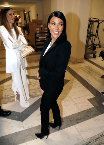 Kourtney Kardashian Attends Capitol Hill Briefing In Support Of Personal Care Product Legislation