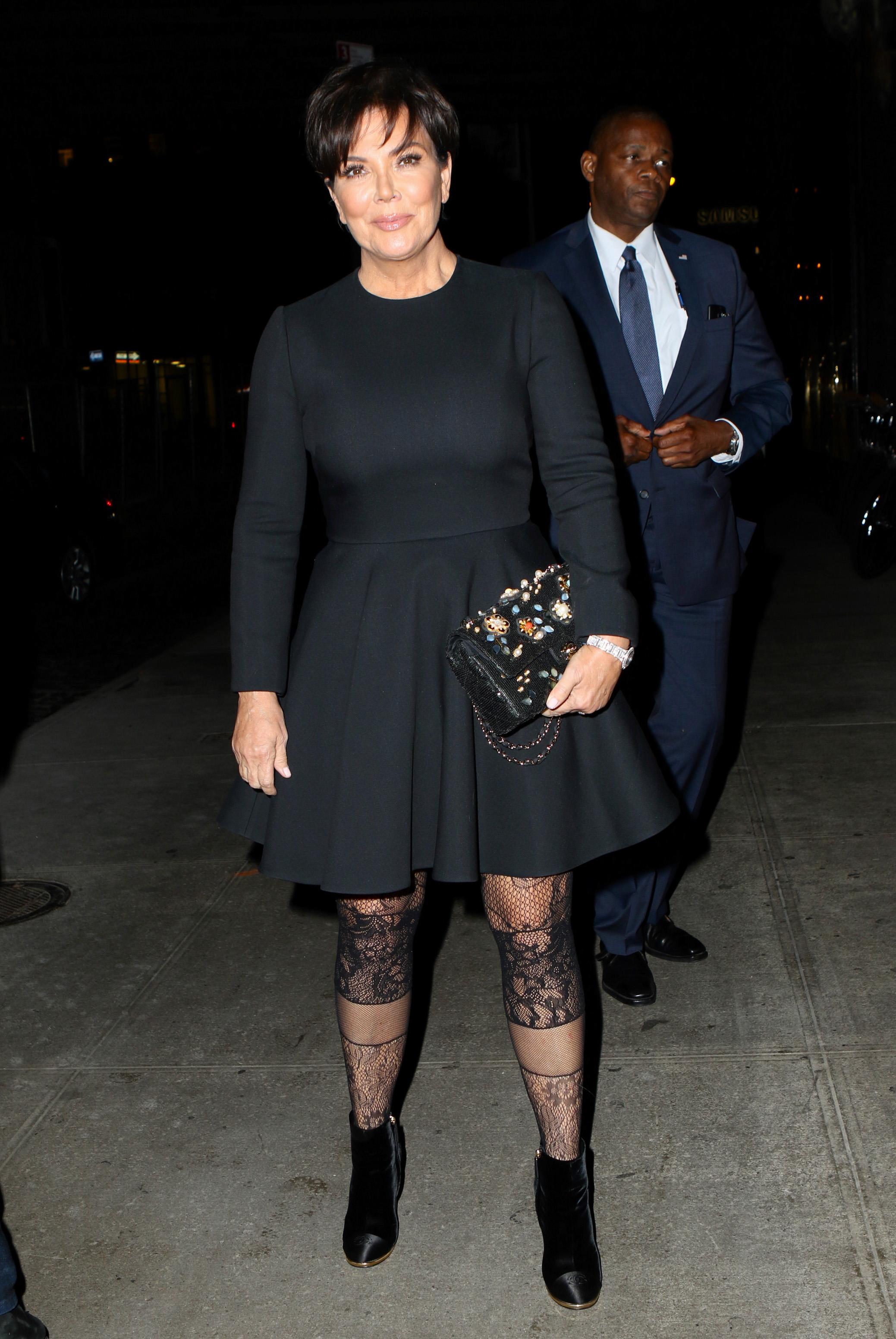 Celebrity Sightings In New York - October 23, 2017