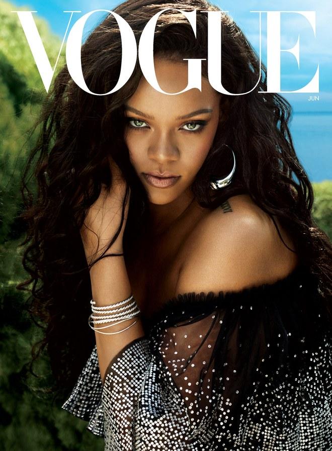 Rihanna on Vogue Cover