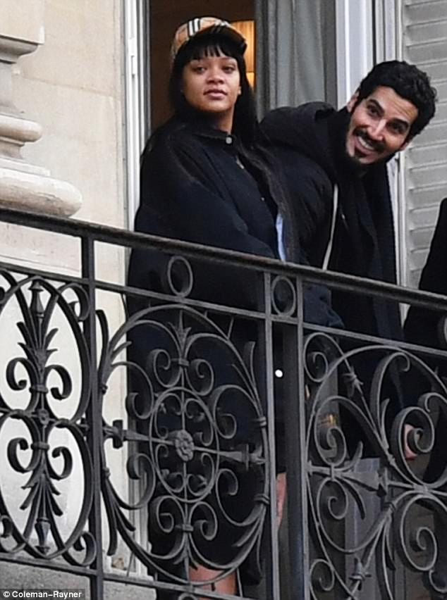 Rihanna And Hasaan Jameel