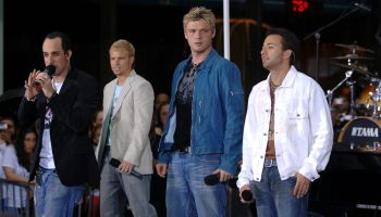 Backstreet Boys Mini-Concert on Today Show