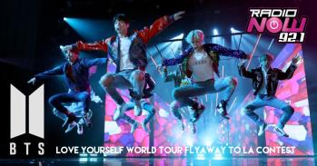 BTS Flyaway Contest