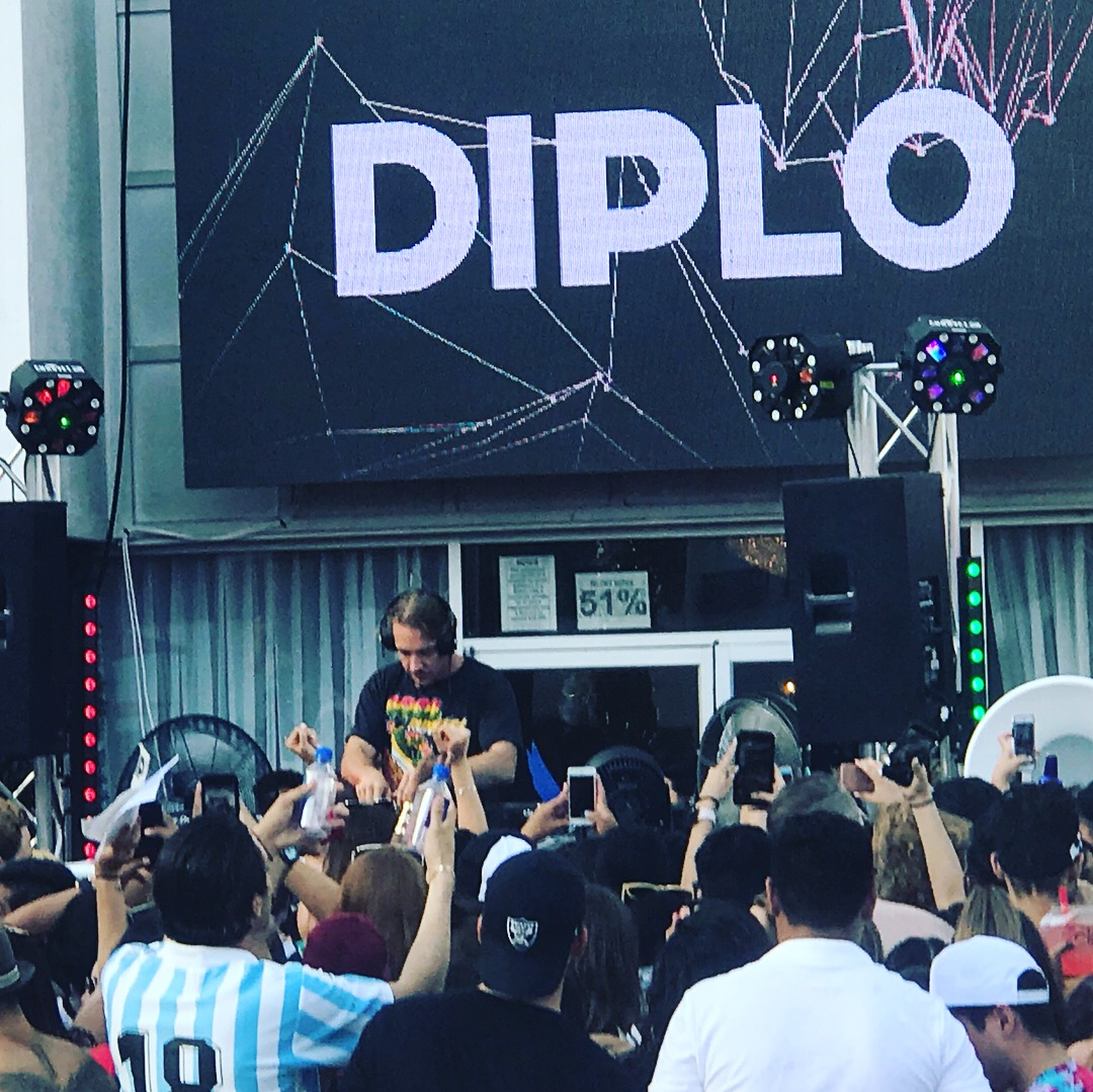 Diplo Pool Party 2