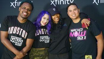 Teyana Taylor x Radio Now Houston