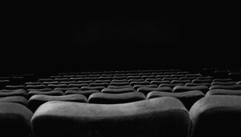 Empty Chairs In Movie Theater